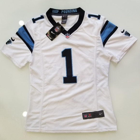 27c5d634 Cam Newton Carolina Panthers On Field Nike Jersey NWT